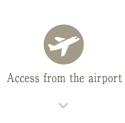 Access from the airport